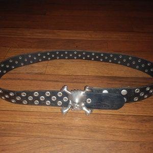 Oakley skull belt